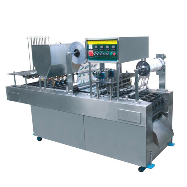 CD-20A 4Holes Mechanical Type Cup Filling And Sealing Machine