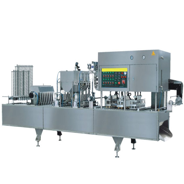 CD-20B-4/6/8/12 Pneumatic Cup Filling And Sealing Machine