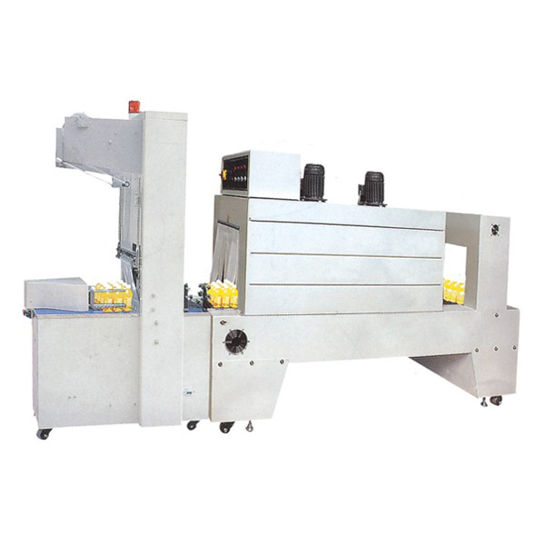 BZJ-5038(Pneumatic) Cuff Type Semi-automatic Packaging Machine+PE Heat Shrinkable Packaging Machine