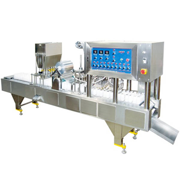 QCFP Series Pneumatic Bottle Filling and Sealing Machine