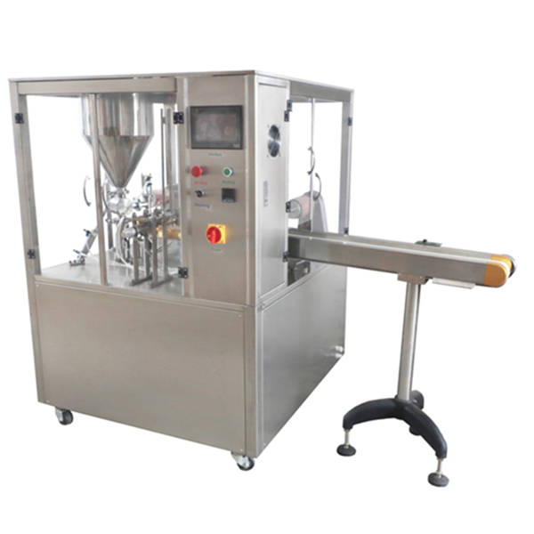 TD-7 Pneumatic Rotary Type Cup Filling and Sealing Machine
