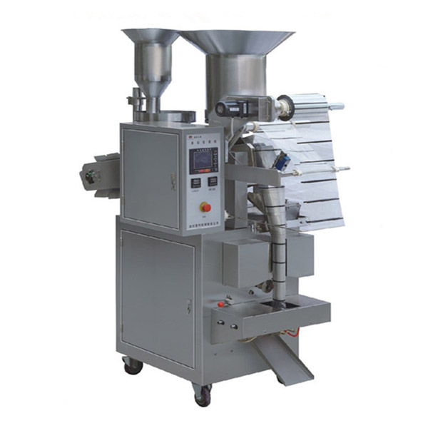 Automatic muti-material granule combined type packing machine